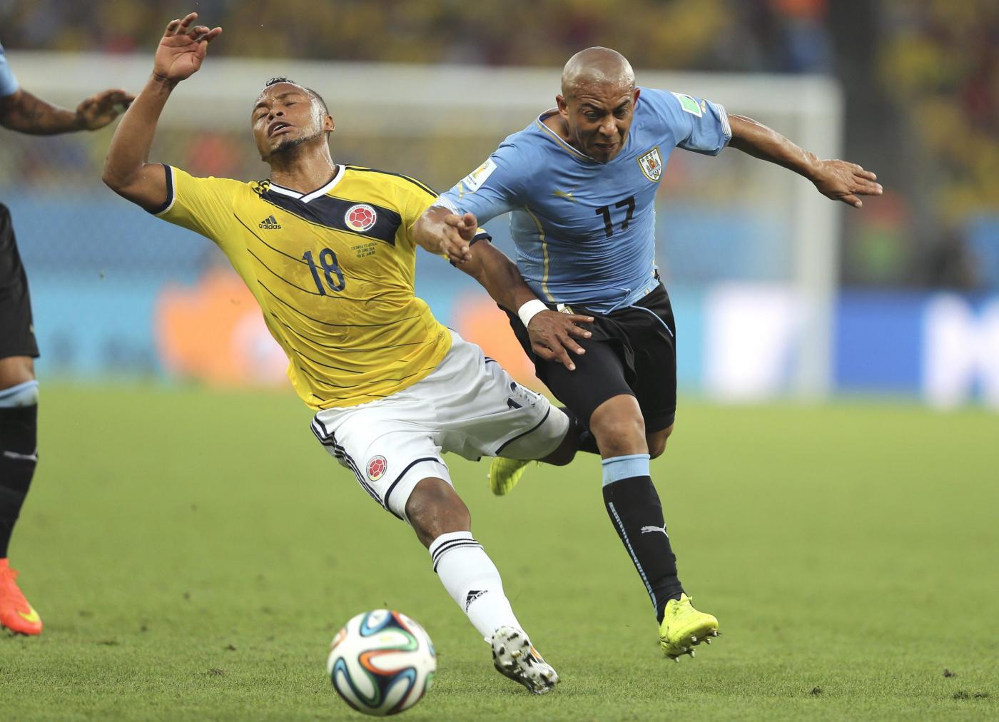 Colombia Vs Uruguay: Colombia Vs Uruguay - Mondiali Di Calcio 2014