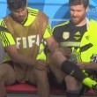 Diego Costa fa la ceretta a Xabi Alonso (VIDEO)