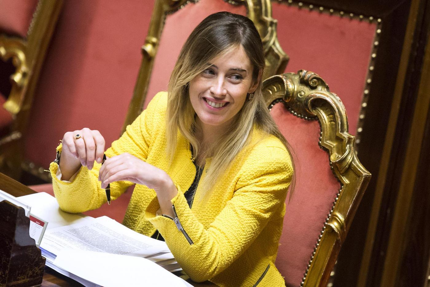 """Selvaggia Lucarelli """"Cara Maria Elena Boschi Cerchi Marito Ti"""