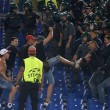Roma-Cska, scontri tifosi russi-steward (FOTO-VIDEO). Romanisti accoltellano russo