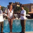 Uma Thurman, Ice Bucket Challenge a Venezia VIDEO