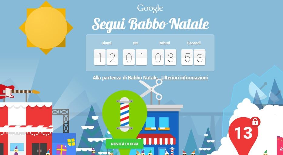 Percorso Babbo Natale.Google Santa Tracker Segui Il Percorso Di Babbo Natale 02 Blitz