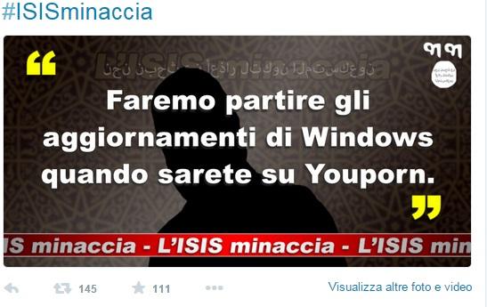 Isis su twitter le minacce 13 blitz quotidiano - Finestre pensione 2015 ...
