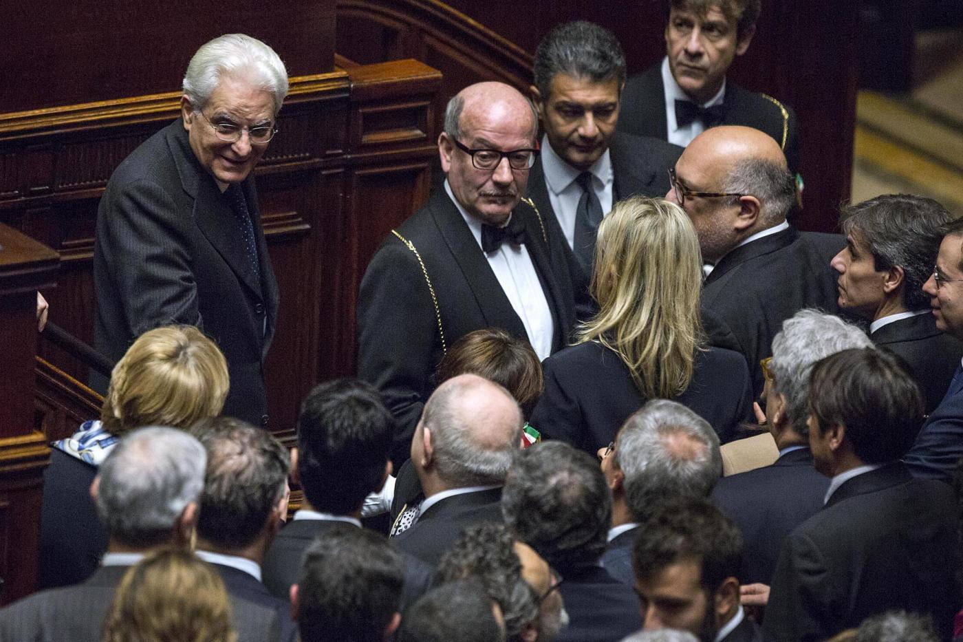 Camera dei deputati giuramento del presidente della for Presidente camera dei deputati attuale