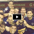 VIDEO, Boca: Osvaldo doppietta in Coppa Libertadores e selfie con squadra