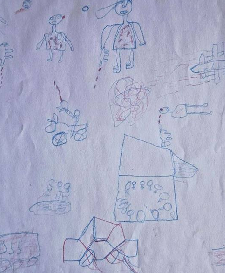 Nigeria disegni dei bimbi in fuga da boko haram morti decapitati asce foto 4 blitz - Finestre pensione 2015 ...
