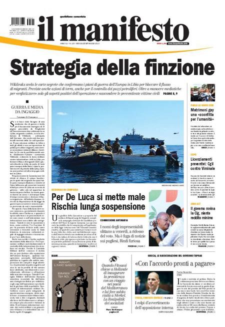 Manifesto20 blitz quotidiano - Finestre pensione 2015 ...