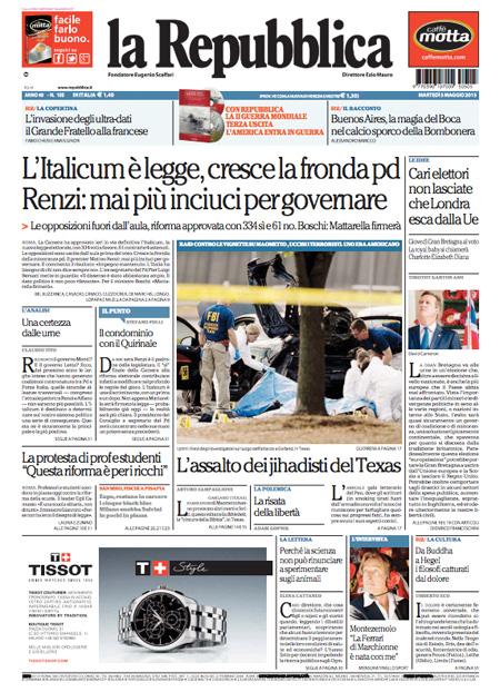 Repubblica3 blitz quotidiano - Finestre pensione 2015 ...