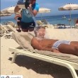 VIDEO YouTube - Antonio Cassano fa gavettone a Criscito in spiaggia 7