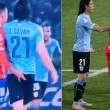VIDEO YouTube - Gonzalo Jara dito nel c... a Cavani che si fa espellere