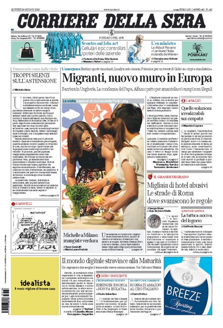 Corrieredellasera4 blitz quotidiano - Finestre pensione 2015 ...