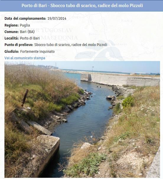 Spiagge puglia le 11 fortemente inquinate dove non fare il bagno 6 blitz quotidiano - Plemmirio dove fare il bagno ...