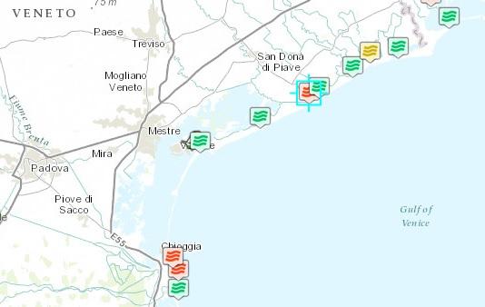 Spiagge veneto le 4 fortemente inquinate dove non fare il bagno blitz quotidiano - Cinque terre dove fare il bagno ...