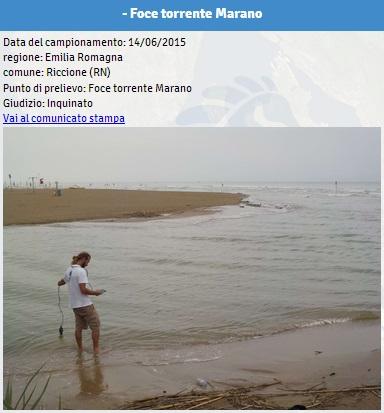 Emilia romagna le spiagge inquinate dove non fare il bagno 03 blitz quotidiano - Plemmirio dove fare il bagno ...