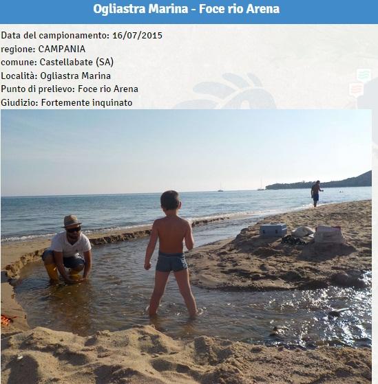 Campania le spiagge inquinate dove non fare il bagno2 - Bagno gino igea marina ...