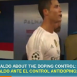 VIDEO YouTube - Cristiano Ronaldo spazientito da anti-doping