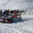 YOUTUBE Max Verstappen guida la Red Bull su neve con catene4