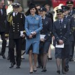 VIDEO YOUTUBE Kate Middleton in divisa militare visita Raf 03