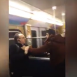 VIDEO YOUTUBE - Profughi in metro maltrattano anziani 6