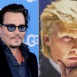 YOUTUBE Johnny Depp-Donald Trump: film comico stile anni 80 6