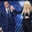 Virginia Raffaele-Donatella Versace: lifting a Sanremo FOTO 2