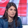 YOUTUBE Virginia Raggi in minigonna da Maria Latella e...4