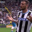 Cyril Thereau video gol Udinese-Napoli