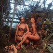 Belen Rodriguez, Cecilia e il balletto in bikini...VIDEO