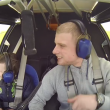YOUTUBE In volo con Robbie, bimbo con sindrome di Williams 7