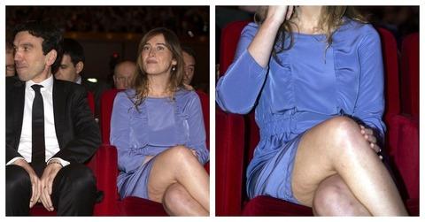 Maria elena boschi senza calze torna tormentone cellulite for Videos porno en las piscinas