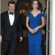 "Kate Middleton in blu alla serata di beneficenza. ""Troppo magra"" FOTO"