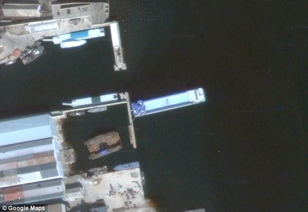 Corea del nord mega nave con cabine di lusso e piscina for Cabine di lusso gigantesche