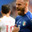 Italia-Germania, De Rossi si allena in gruppo: speranze