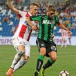 Sassuolo-Stella Rossa 3-0 video gol highlights foto pagelle_2