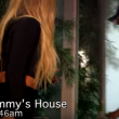 Britney Spears entra in camera di Jimmy Kimmel8