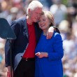 Hillary e Bill Clinton oggi