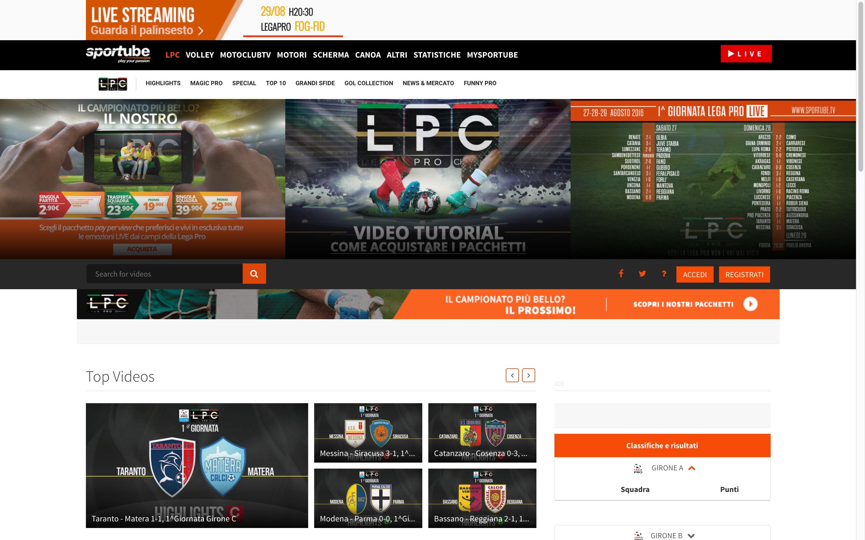 Calendario E Classifica Serie C Girone C.Sportube Serie C Diretta Streaming Risultati Highlights