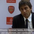 YOUTUBE Antonio Conte, inglese improbabile dopo Arsenal-Chelsea