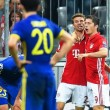 Bayern Monaco-Rostov 5-0, video gol highlights Champions League: Kimmich doppietta