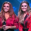 X Factor, Little mix sul palco in culotte, top e stivaloni FOTO