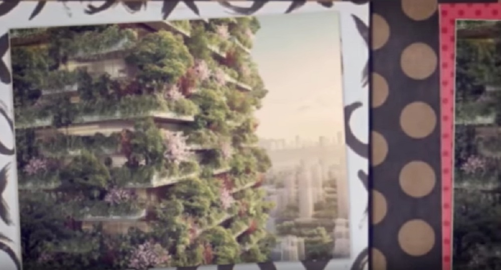YOUTUBE Nanjing Green Towers, foreste verticali in Cina by Stefano Boeri