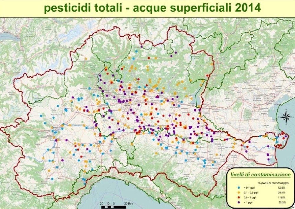 Pesticidi nel fiume po banditi da decenni ma nelle acque for Acque pure italia opinioni