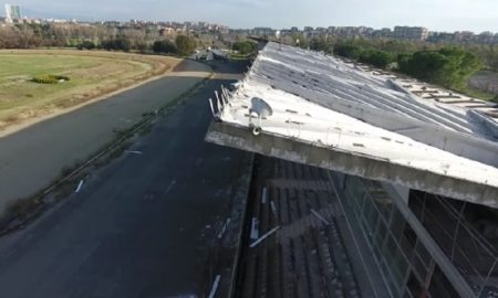 Tor di Valle, la Roma mostra in un video il degrado dell' ex ippodromo