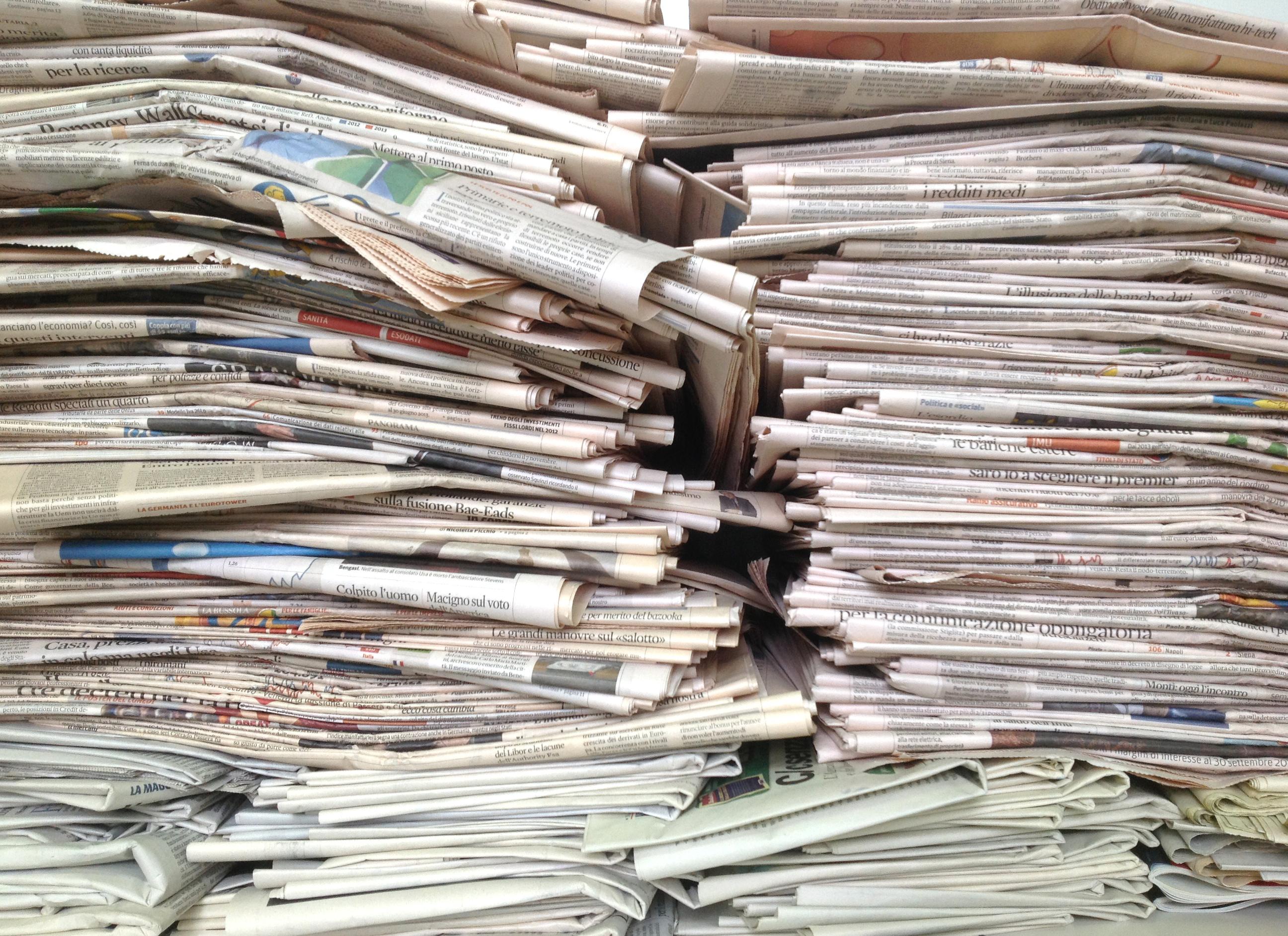 Edicolante arrestato a genova rubava giornali ai colleghi - Giornali di cucina ...