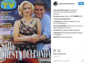"""Paolo Limiti, il ricordo di Justine Mattera: """"A te che mi hai creato una carriera. Ti amo"""""""