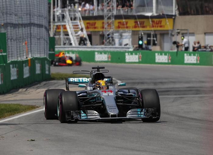 F1, doppietta della Mercedes in Canada