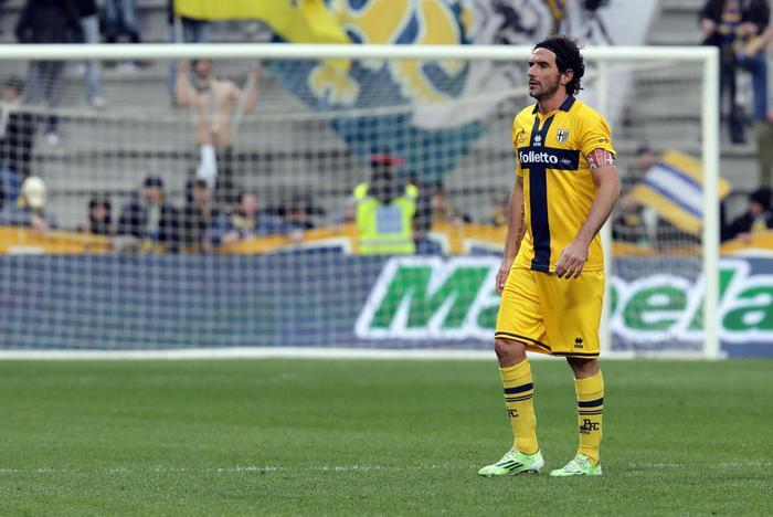 Parma, la gioia di Crespo: