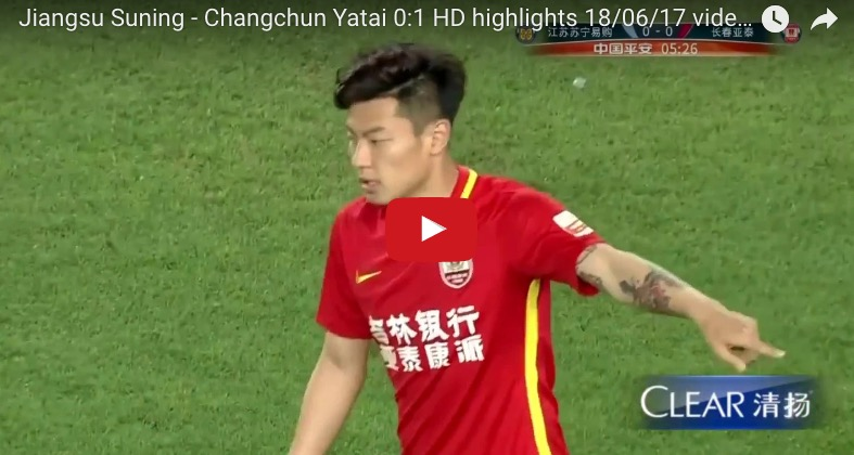 YouTube, Fabio Capello parte male: Jiangsu Suning-Changchun 0-1