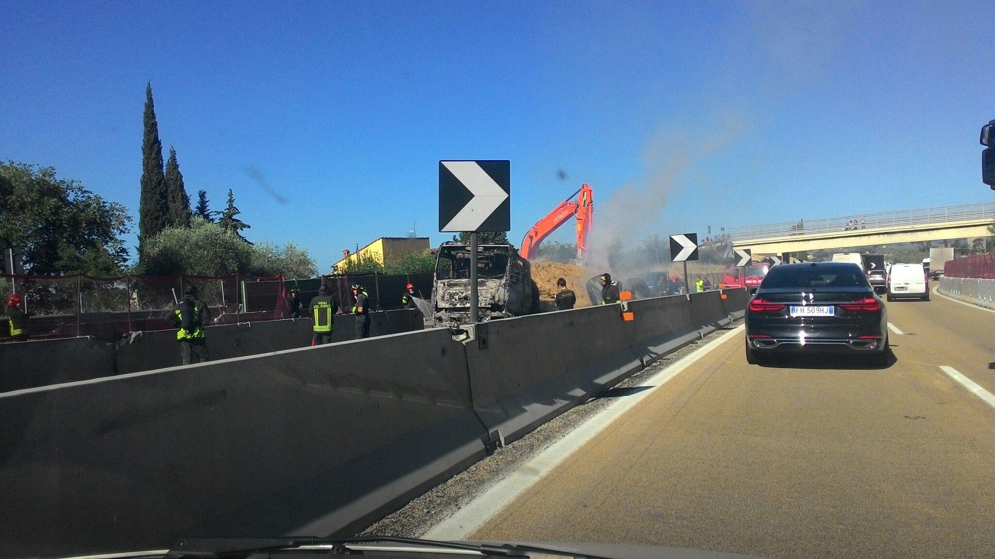 A1: riaperto il tratto tra Firenze sud e Incisa direzione Roma