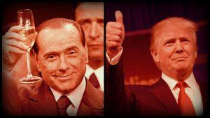 """Berlusconi: """"Di Trump mi piace la moglie"""". Su Raggi: """"Se ne freghi delle inchieste…"""""""